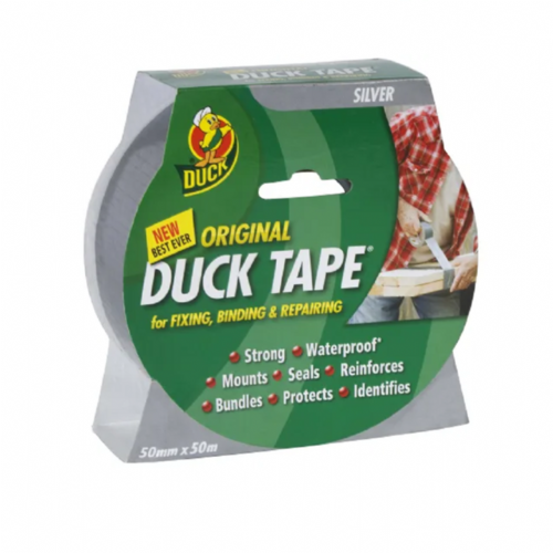 Shurtape 211112 Duck Tape Original 50mm x 50m Silver